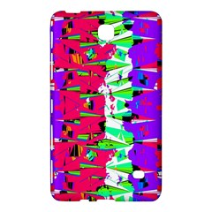 Colorful Glitch Pattern Design Samsung Galaxy Tab 4 (7 ) Hardshell Case