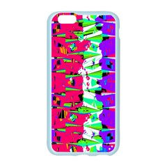 Colorful Glitch Pattern Design Apple Seamless iPhone 6/6S Case (Color)