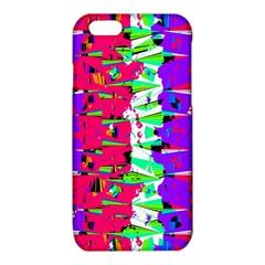 Colorful Glitch Pattern Design iPhone 6/6S TPU Case