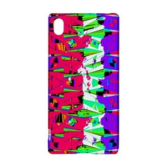 Colorful Glitch Pattern Design Sony Xperia Z3+