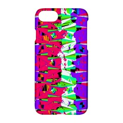 Colorful Glitch Pattern Design Apple iPhone 7 Hardshell Case