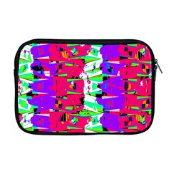 Colorful Glitch Pattern Design Apple Macbook Pro 17  Zipper Case