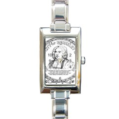 Seal of Berkeley, California Rectangle Italian Charm Watch