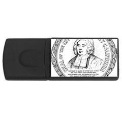 Seal of Berkeley, California USB Flash Drive Rectangular (2 GB)