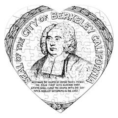 Seal of Berkeley, California Jigsaw Puzzle (Heart)
