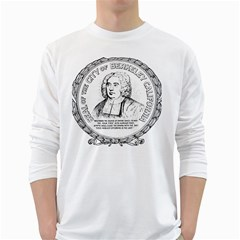 Seal of Berkeley, California White Long Sleeve T-Shirts