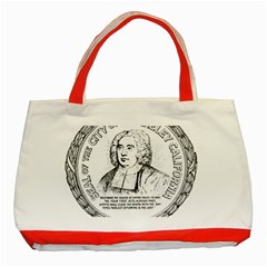 Seal of Berkeley, California Classic Tote Bag (Red)