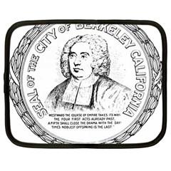 Seal of Berkeley, California Netbook Case (Large)