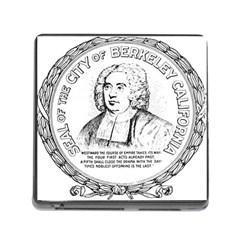 Seal of Berkeley, California Memory Card Reader (Square)
