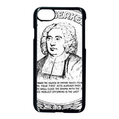 Seal of Berkeley, California Apple iPhone 7 Seamless Case (Black)