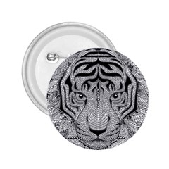 Tiger Head 2.25  Buttons