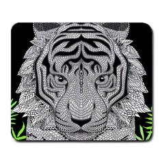 Tiger Head Large Mousepads