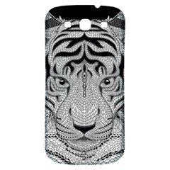 Tiger Head Samsung Galaxy S3 S III Classic Hardshell Back Case