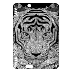 Tiger Head Kindle Fire HDX Hardshell Case