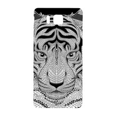 Tiger Head Samsung Galaxy Alpha Hardshell Back Case