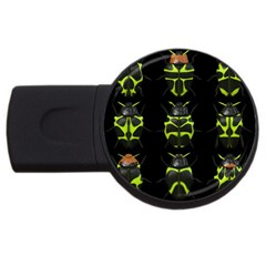 Beetles Insects Bugs USB Flash Drive Round (2 GB)