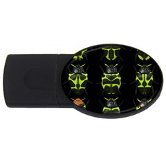Beetles Insects Bugs USB Flash Drive Oval (1 GB)