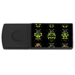 Beetles Insects Bugs USB Flash Drive Rectangular (2 GB)