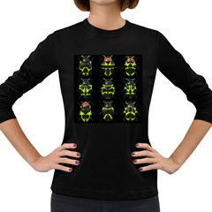 Beetles Insects Bugs Women s Long Sleeve Dark T-Shirts