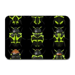 Beetles Insects Bugs Plate Mats