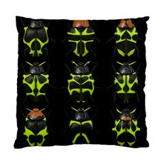 Beetles Insects Bugs Standard Cushion Case (Two Sides)
