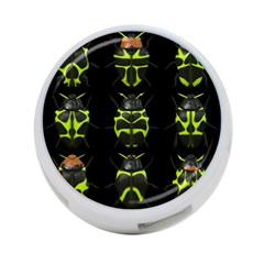 Beetles Insects Bugs 4-Port USB Hub (Two Sides)