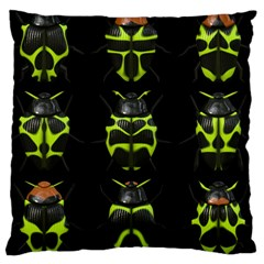 Beetles Insects Bugs Large Cushion Case (One Side)