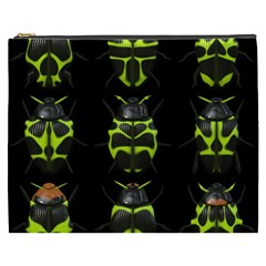 Beetles Insects Bugs Cosmetic Bag (XXXL)
