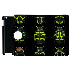 Beetles Insects Bugs Apple iPad 3/4 Flip 360 Case