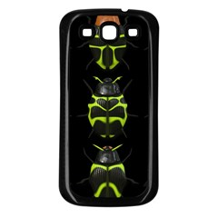Beetles Insects Bugs Samsung Galaxy S3 Back Case (Black)