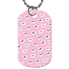Girly Girlie Punk Skull Dog Tag (Two Sides)