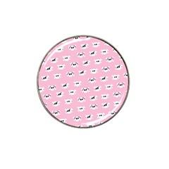 Girly Girlie Punk Skull Hat Clip Ball Marker (4 pack)
