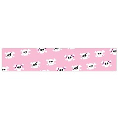 Girly Girlie Punk Skull Flano Scarf (Small)