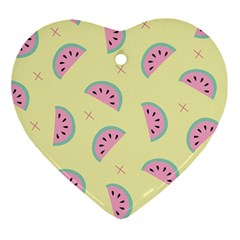 Watermelon Wallpapers  Creative Illustration And Patterns Ornament (Heart)
