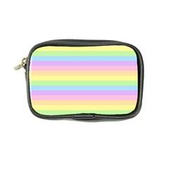 Cute Pastel Rainbow Stripes Coin Purse