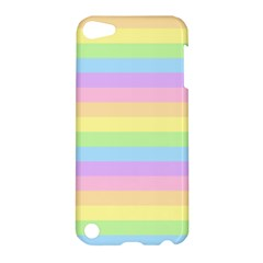 Cute Pastel Rainbow Stripes Apple iPod Touch 5 Hardshell Case
