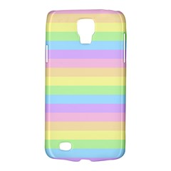 Cute Pastel Rainbow Stripes Galaxy S4 Active