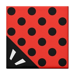 Abstract Bug Cubism Flat Insect Face Towel
