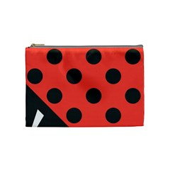 Abstract Bug Cubism Flat Insect Cosmetic Bag (Medium)