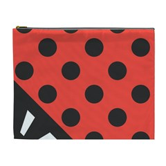 Abstract Bug Cubism Flat Insect Cosmetic Bag (XL)