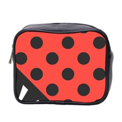 Abstract Bug Cubism Flat Insect Mini Toiletries Bag 2-Side
