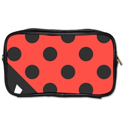 Abstract Bug Cubism Flat Insect Toiletries Bags 2-Side