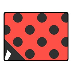 Abstract Bug Cubism Flat Insect Fleece Blanket (Small)