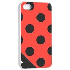 Abstract Bug Cubism Flat Insect Apple iPhone 4/4s Seamless Case (White)