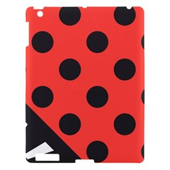 Abstract Bug Cubism Flat Insect Apple iPad 3/4 Hardshell Case