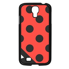 Abstract Bug Cubism Flat Insect Samsung Galaxy S4 I9500/ I9505 Case (Black)