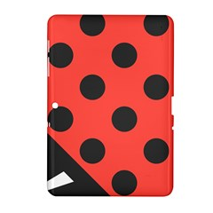Abstract Bug Cubism Flat Insect Samsung Galaxy Tab 2 (10.1 ) P5100 Hardshell Case