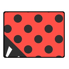 Abstract Bug Cubism Flat Insect Double Sided Fleece Blanket (Small)