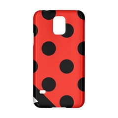 Abstract Bug Cubism Flat Insect Samsung Galaxy S5 Hardshell Case