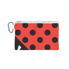 Abstract Bug Cubism Flat Insect Canvas Cosmetic Bag (S)